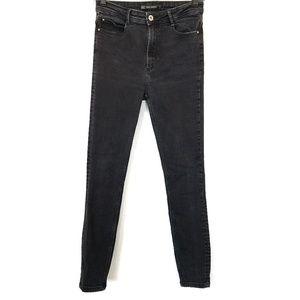 "Zara | 10"" High Rise Stretch Skinny Jeans 6"